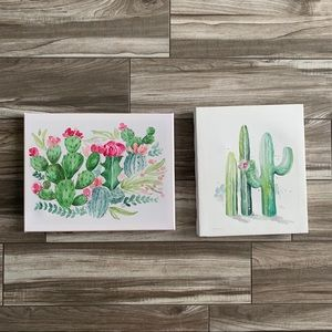 🌿3/$15 Bundle of 2 cactus prints
